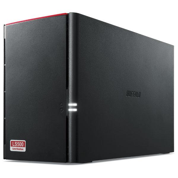 LS520D0402G バッファロー ネットワーク対応ハードディスク 4.0TB(2.0TB×2) リンクステーション(RAID 0/1対応)