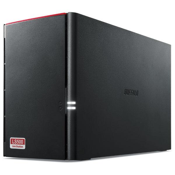 LS520D0602G バッファロー ネットワーク対応ハードディスク 6.0TB(3.0TB×2) リンクステーション(RAID 0/1対応)