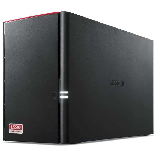 LS520D0802G バッファロー ネットワーク対応ハードディスク 8.0TB(4.0TB×2) リンクステーション(RAID 0/1対応)