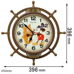 FW-583-A セイコークロック 電波掛け時計【ディズニー】 [FW583A]【返品種別A】