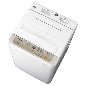 (標準設置料込)NA-F50B12-N パナソニック 5.0kg 全自動洗濯機 シャンパン Panasonic