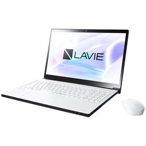 PC-NX850LAW NEC 15.6型 ノートパソコン LAVIE Note NEXT NX850/LAシリーズ プラチナホワイト LAVIE 2018年 秋冬モデル[Core i7/メモリ 8GB/SSD 128GB+HDD 1TB/Office H&B 2016]