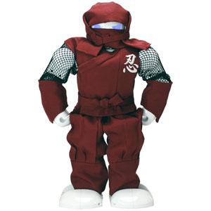 81129(レッド) 竹中製作所 ダンスロボット【Alpha1S】 + 忍者装束(レッド) セット