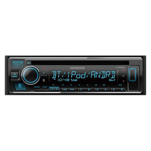 【最大1000円OFF■当店限定クーポン 11/20迄】U380BT ケンウッド CD/USB/iPod/Bluetoothレシーバー1DIN KENWOOD