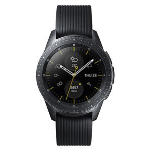 SM-R810NZKAXJP サムスン 【国内正規品】スマートウォッチ(ミッドナイトブラック) SAMSUNG Galaxy Watch (42mm) / Midnight Black [SMR810NZKAXJP]【返品種別A】