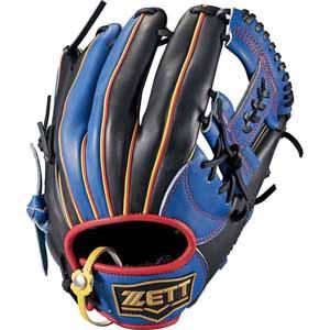 Z-BSGB52810-2319-RH ゼット ソフトボール用グラブ(サイズ4・左投用・ブルー×ブラック) ZETT リアライズ オールラウンド