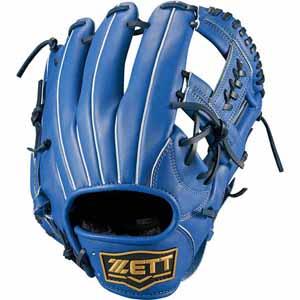 Z-BSGB53810-2300-RH ゼット ソフトボール用グラブ(サイズ5・左投用・ブルー) ZETT デュアルキャッチ オールラウンド