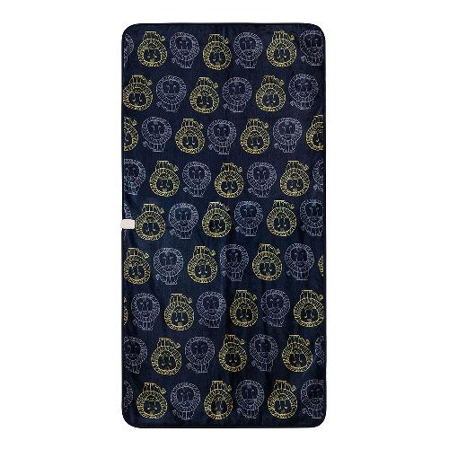 KDS-L301 コイズミ 電気毛布(敷タイプ・200×100cm リサ・ラーソン/ライオン柄) 【暖房器具】KOIZUMI