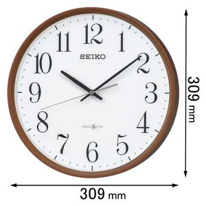 GP-220-B セイコークロック 衛星電波掛け時計 [GP220B]【返品種別A】
