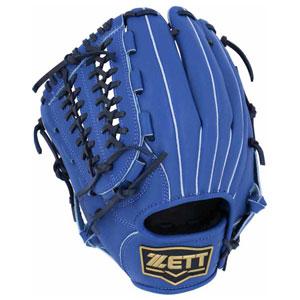 Z-BSGB53820-2300-RH ゼット ソフトボール用グラブ(サイズ6・左投用・ブルー) ZETT デュアルキャッチ オールラウンド