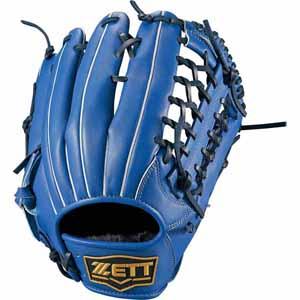 Z-BSGB53830-2300-RH ゼット ソフトボール用グラブ(サイズ7・左投用・ブルー) ZETT デュアルキャッチ オールラウンド