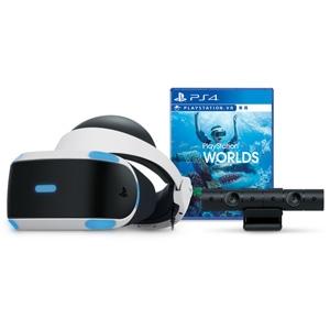【特典付】PlayStation VR 【PlayStation(R)VR WORLDS】同梱版 ソニー・コンピュータエンタテインメント [CUHJ-16006 PSVR VRWORLDS ドウコン]