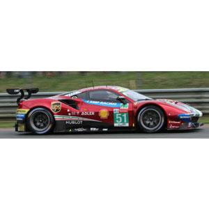 1/43 Ferrari 488 GTE Evo No.51 24H Le Mans 2018【LSLM082】 LOOKSMART