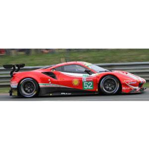 1/43 Ferrari 488 GTE Evo No.52 24H Le Mans 2018【LSLM083】 LOOKSMART