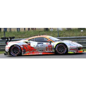 1/43 Ferrari 488 GTE No.61 24H Le Mans 2018 Clearwater Racing【LSLM086】 LOOKSMART