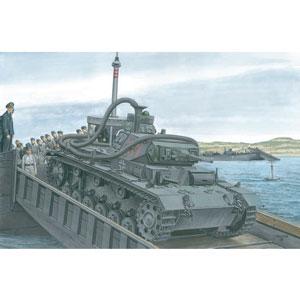 【再生産】1/35 WW.II ドイツ軍 III号潜水戦車F型
