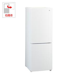 (標準設置料込)JR-NF173B-W ハイアール 173L 2ドア冷蔵庫(ホワイト)【右開き】 Haier