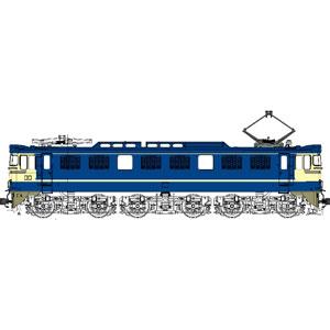 [鉄道模型]トラムウェイ (HO) TW-EF60-1D 国鉄EF60-1灯形500番台特急色