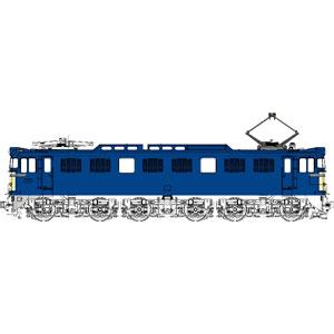 [鉄道模型]トラムウェイ (HO) TW-EF60-1E 国鉄EF60-1灯形500番台一般色