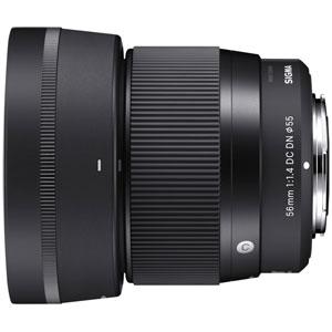 56MMF1.4DCDN(C)_MFT シグマ 56mm F1.4 DC DN ※マイクロフォーサーズ用レンズ(ミラーレス一眼用)