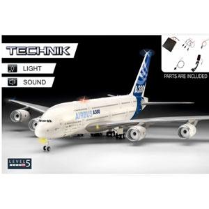 1/144 「レベルテクニック」 エアバス A380-800【00453】 ドイツレベル