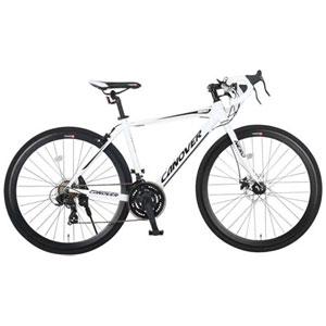 CAR-014-DC NERO(33737) オオトモ 自転車 700c ロードバイク(ホワイト) OTOMO CANOVER(カノーバー)NERO(ネロ)