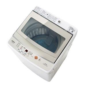 (標準設置料込)AQW-GS50G-W アクア 5.0kg 全自動洗濯機 ホワイト AQUA