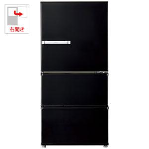 (標準設置料込)AQR-SV24H-K アクア 238L 3ドア冷蔵庫(ヴィンテージブラック)【右開き】 AQUA SVシリーズ