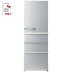 AQR-36G2-S アクア 355L 4ドア冷蔵庫(ミスティシルバー)【右開き】 AQUA