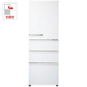 AQR-36G2-W アクア 355L 4ドア冷蔵庫(ナチュラルホワイト)【右開き】 AQUA