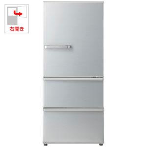(標準設置料込)AQR-27G2-S アクア 272L 3ドア冷蔵庫(ミスティシルバー)【右開き】 AQUA