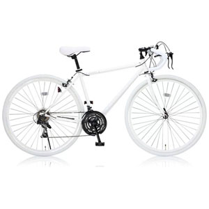 Sensitive(19251) オオトモ 自転車 700c ロードバイク(470mm/ホワイト) OTOMO Grandir センシティブ