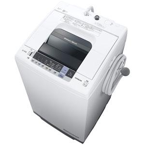 (標準設置料込)NW-70C-W 日立 7.0kg 全自動洗濯機 ピュアホワイト HITACHI