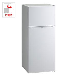 (標準設置料込)JR-N130A-W ハイアール 130L 2ドア冷蔵庫(直冷式)ホワイト【右開き】 Haier
