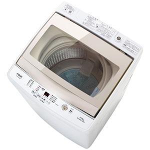 (標準設置料込)AQW-GS70G-W アクア 7.0kg 全自動洗濯機 ホワイト AQUA