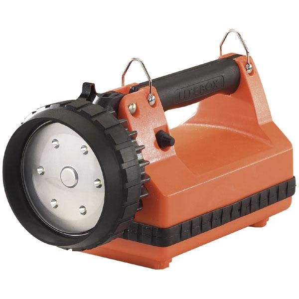 45810 ストリームライト LED投光ライト(オレンジ)615ルーメン STREAMLIGHT Eフラッドライトボックス非常灯付