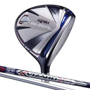 BEZEAL535 FW#3S 本間ゴルフ BeZEAL535 フェアウェイウッド VIZARD for Be ZEALカーボンシャフト #3W フレックス:S