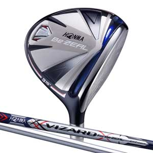 BEZEAL535 FW#7S 本間ゴルフ BeZEAL535 フェアウェイウッド VIZARD for Be ZEALカーボンシャフト #7W フレックス:S