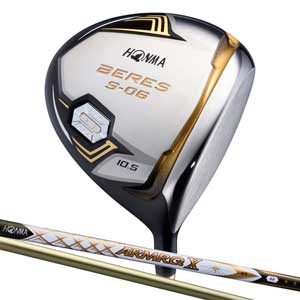 BRS S-06 47-3S 10.5R 本間ゴルフ BERES S-06 ドライバー 3Sグレード ARMRQ X 47カーボンシャフト 10.5°フレックス:R