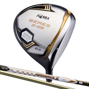 BRS S-06 47-3S 10.5S 本間ゴルフ BERES S-06 ドライバー 3Sグレード ARMRQ X 47カーボンシャフト 10.5°フレックス:S