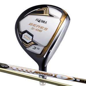 【新品本物】 BRS S-06 BRS 47-3S FW3S FW3S 本間ゴルフ BERES S-06 X フェアウェイウッド 3Sグレード ARMRQ X 47カーボンシャフト #3W フレックス:S, 魚沼市:62bca6cd --- aqvalain.ru