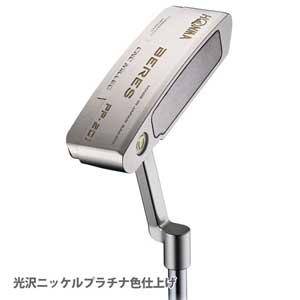 BRS PP-201 PR 34 本間ゴルフ BERES PP-201 パター (34インチ) 光沢ニッケルプラチナ色