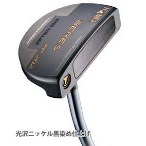 BRS PP-202 BK 34 本間ゴルフ BERES PP-202 パター (34インチ) 光沢ニッケル黒染め