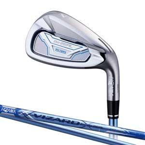 BEZEAL535 I#5A 本間ゴルフ Be ZEAL 535 レディースアイアン VIZARD for Be ZEALカーボンシャフト #5 フレックス:A