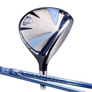 BEZEAL535 FW#7A 本間ゴルフ BeZEAL535 レディースフェアウェイウッド VIZARD for Be ZEALカーボンシャフト #7W フレックス:A
