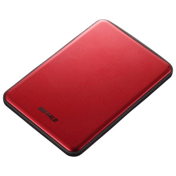 HD-PUS2.0U3-RDD バッファロー USB3.1(Gen1)/3.0対応 ポータブルハードディスク 2TB(レッド) HD-PUSU3-Dシリーズ