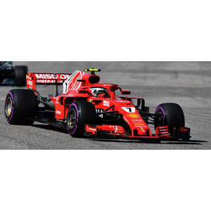 1/43 Ferrari SF71H No.7 Winner US GP 2018【LSF1018】 スパーク