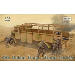 【再生産】1/35 伊・ランチャア3Ro重トラック・兵員キャリアタイプ【PB35055】 IBG