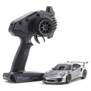 電動RC ミニッツRWDシリーズ レディセット ポルシェ 911 GT3 RS シルバー【32321S】 京商