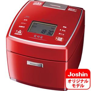 NJ-V18J7-R 三菱 IHジャー炊飯器(1升炊き) シャインレッド MITSUBISHI NJ-VV189のJoshinオリジナルモデル